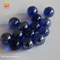 Quality Colorful Decoration Custom Glass Marbles,round Solid Home Decor Hand Made Glass Balls for sale