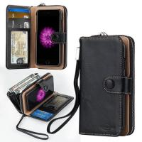 China iPhone case Wallet Leather Shell Flip Style with Card Slots for iphone7 on sale