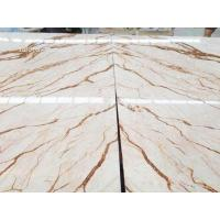 Golden dragon marble, hot sell white marble with gloden dragon veins, large projects material