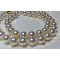 Quality 7.5-8mm akoya pearl strand AAA quality for sale