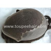 Quality Toupee for Men Lace skin stock toupee Q6 for sale