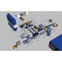Quality Semi-automatic block production line for sale