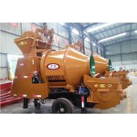 Buy cheap Towable concrete mixer with pump from wholesalers
