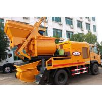 Buy cheap Concrete Mixer-Pump-Truck 3 in ONE Powered by Electricity or Diesel Generator from wholesalers