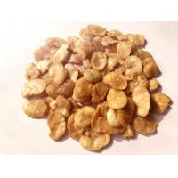 Quality Fried Blanched Fava Bean Snack Salted Health Food Hard Texture COA Certificate for sale