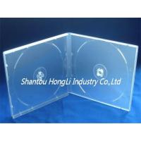 Quality 10mm cd pp case HLCP1025 10mm double cd pp case super clear for sale