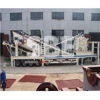 Quality Mobile Impact Crushing Plant for sale
