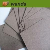 plywood dark brown hardboard 4x8 with smooth surface and rough back