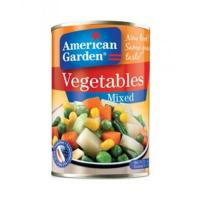 400g canned mixed vegetables factory