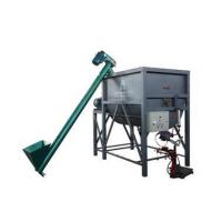 Horizontal double snail powder equipment