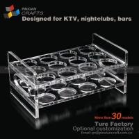 Quality Plexiglass Shot Glass Collection Display Ideas for sale
