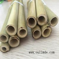Quality Big Holes Bamboo Poles Straws for sale