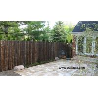 Quality High grade natural black bamboo fence for sale