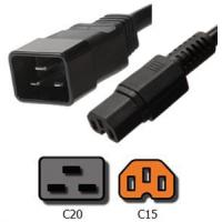 Quality Power Cords C20 to C15 Plug Adapter for sale