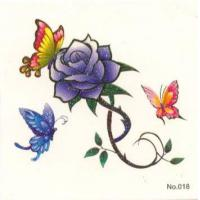 Quality Promotion Gifts 13 flower tattoo 1 for sale