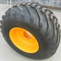 400/60-15.5 flotation tires with rim for sale