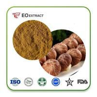 Quality Shiitake Mushroom Extract Powder Prodcut  OrganicShiitakemushroomExtractPowder for sale