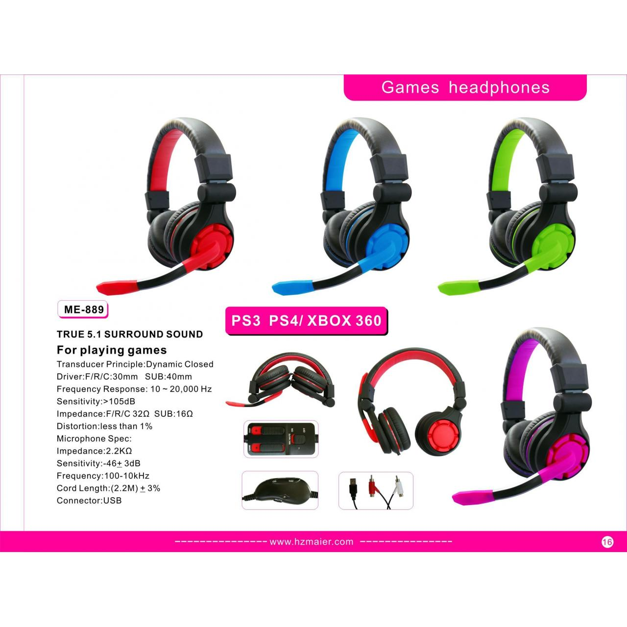 Quality Games headphones Model:The game Headset for sale