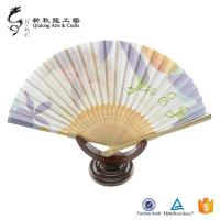 Customized Female Wedding folding fan made in china