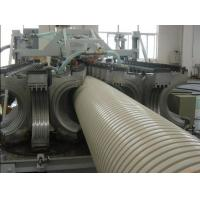 Buy cheap Plastic Pipe Machine PVC Double Wall Corrugated Pipe Production Line from wholesalers