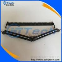 Quality 24 ports angle rj11 rj45 patch panel for sale