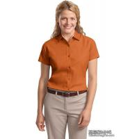 Quality Apparel & Clothing AB1010Ladies Easy Care Short Sleeve Shirt for sale