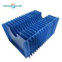 OEM Fluted Plastic Foldable ECO Friendly Dividers