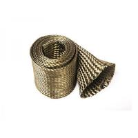 Quality Basalt Fiber Firesleeve/or with Silicone Coating for sale