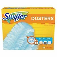 Quality Swiffer 180 Dusters, Multi Surface Refills, Unscented Scent, 18 Count for sale