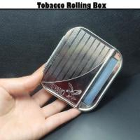 Quality Manufacture Customized Iron Self-adhesive Hand Rolling Tobacco stainless steel box for sale
