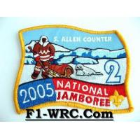 SCOUT ALLEN COUNTER NATION JAMBOREE Embroidered Patch #1