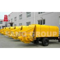Trailer-mounted Concrete Pump DHBTS80-13-145