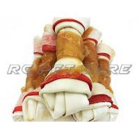 China Chew Knotted Bone Toys Chicken Serise on sale