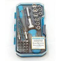 Quality SCREWDRIVERS SET - Precision & Regular - Bits: Phillips, Torx, Hex, Star, Flat, Allen, Square, With for sale