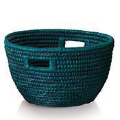 Baskets Teal Bucket Basket Item #: 46034