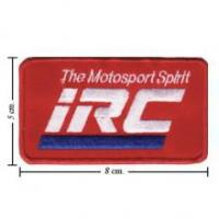 China Automobile IRC Motorcycle Tire Style-1 Embroidered Sew On Patch on sale