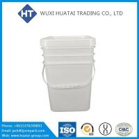 Quality 6 Gallon Plastic Bucket Container for sale