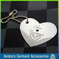 Quality Custom China Factory Gift Jewelry Metal Hang Tags for sale