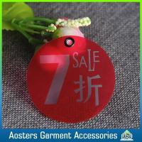 Quality Custom Garment Accessories Plastic Tags for Clothing for sale