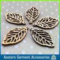 Quality China Manufacturer Custom Laser Cut Wooden Hang Tag Garment for sale