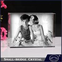 Quality crystal ball 2015 Hot new products Crystal frames photo Wedding decoration gift for sale