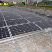 Quality Profesional Design PV Solar Panel Mounting System Aluminum Rail for sale