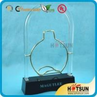 Buy cheap Acrylic Wine Display Stand , Wine Bottle Glass Perspex from wholesalers