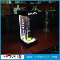 Buy cheap Led lighting acrylic wine bottle display holder manufacturing from wholesalers