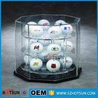 Buy cheap Deft design acrylic golf ball display for 18 balls from wholesalers