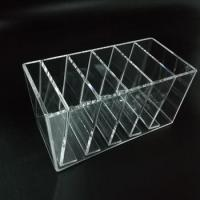 China Wholesale beauty transparent acrylic cd display box rack on sale