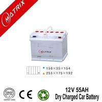 China 12V 55AH Car Batteries Prices on sale