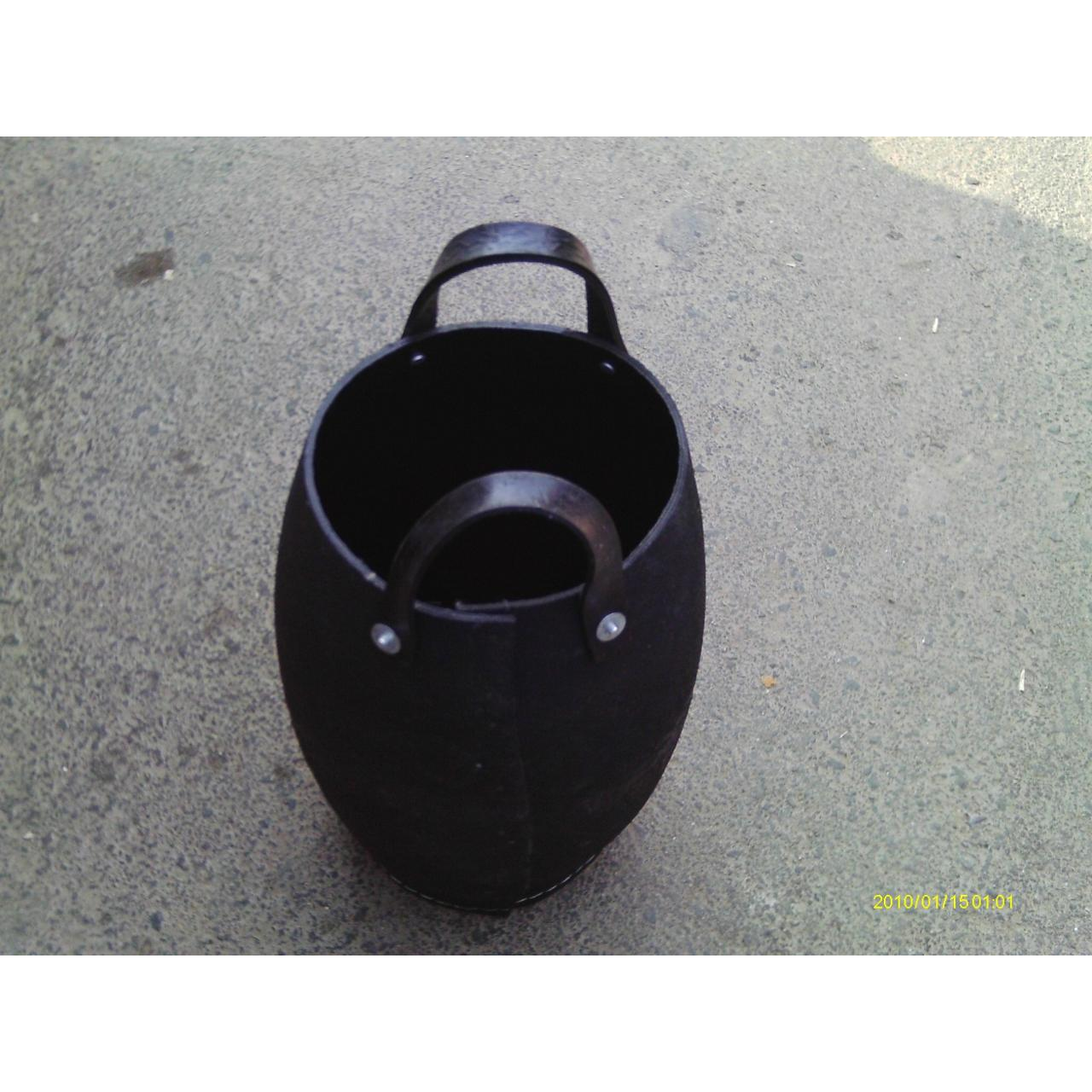 Recycled tire bucket