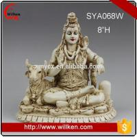 Quality Animal Statues Polyresin Indian God Statues Shiva Figurine for sale