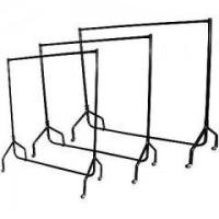 Quality HEAVY DUTY RAIL 120KG 5FT CLOTHES DRESS GARMENT HANGING DISPLAY STAND RACK for sale